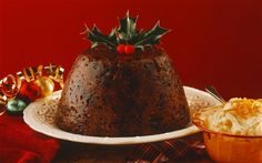 Christmas or plum pudding is thought to go back as far as the medieval period,    though it was not always associated with Christmas time. It is possibly    related to plum pottage, a mix of meat, vegetables, dried fruits and sugar    which was a way of preserving meat through the winter.