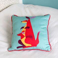 Kangaroo Cushion   dotcomgiftshop   Winter Sale Now On