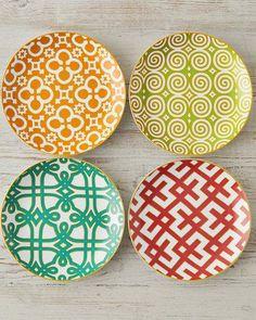Portico Appetizer Plates