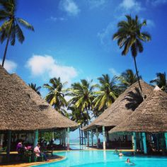 Stay in a amazing resort. Mombasa, Africa