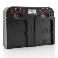 Dual Camera Battery Charger