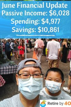 New Blog Post! June 2021 Goals and Financial Update. Passive income $6,028 Spending: $4,977 Savings: 10,861 We had a great month. How about you? #FIRE Early Retirement, Debt Payoff, Money Management, Passive Income, Personal Finance, Frugal, Budgeting, Investing, How To Become