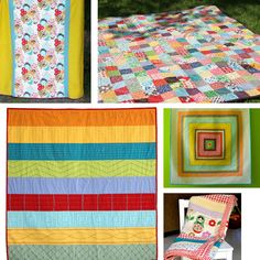 Lots of great quilts that aren't crazy difficult. Perfect for new quilters and those like me that can't stay focused on quilt projects for too long.