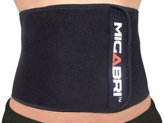 MIGABRI Waist Trimmer XT10 - Adjustable Waist Trimming Belt - Perfect For Ab Toning and Weight Loss - Premium Exercise Belt For Gym, Home and Travel - 100% Neoprene - For Men and Women - One Size *** Trust me, this is great! Click the image. : Weight loss Accessories