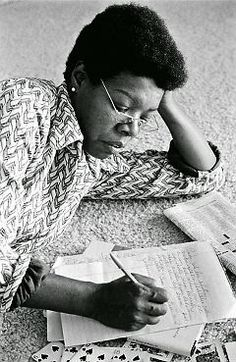 Maya Angelou: On Writing & Life  we may encounter many defeats, but we must not be defeated. That sounds goody-two-shoes, I know, but I believe that a diamond is the result of extreme pressure and time. Less time is crystal. Less than that is coal. Less than that is fossilized leaves. Less than that it's just plain dirt.