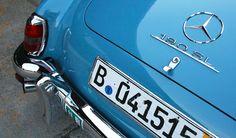 1960 Mercedes Benz #190SL. Found on: http://goodmanreed.com. For all your Mercedes Benz #190SL restoration needs please visit us at http://www.bruceadams190sl.com. #BruceAdams190SL