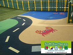 Soft spongy bouncy porous rubber playground surfaces floor contractors prices.jpg;