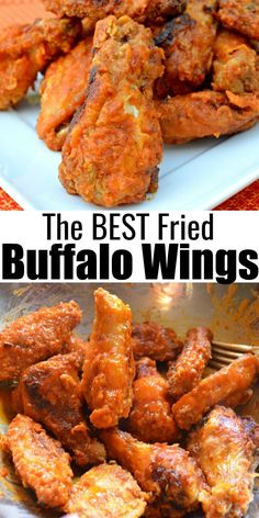 Fried Chicken Wings, Good Food, Yummy Food, Tailgating Recipes, Party Food And Drinks, Buffalo Wings, Great Appetizers, Wing Recipes, Game Day Food