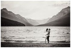 Brittany & Travis - Glacier National Park Engagement - Kalispell Wedding and Family Photographer - 406-871-3524 - Marianne Wiest Photography