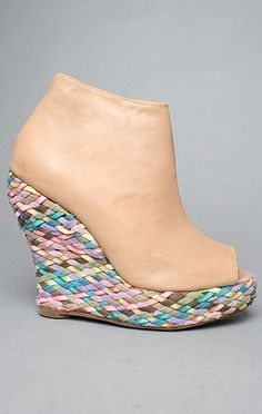 The Tick Espadrille in Natural Leather by Jeffrey Campbell Shoes   Karmaloop.com - Global Concrete Culture - StyleSays