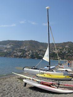 La Herradura Bay, sports activities in a tropical ambiance.  http://www.andalusie-zeezicht.nl/