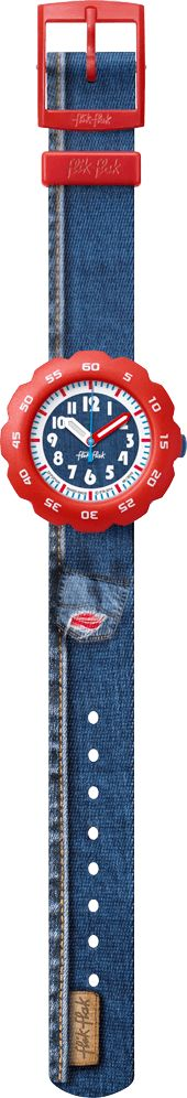 JEANS FOR HIM by Flik Flak – The Swiss made watch for kids