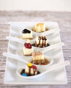 cheesecake spoons