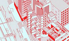 These Fantastical Architectural Illustrations Are Made Using Autocad | ArchDaily