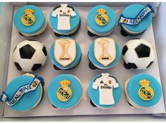 Real Madrid Cupcakes!