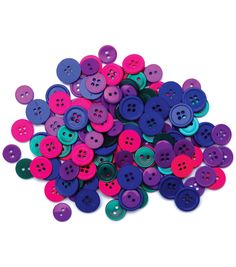 Favorite Findings Buttons-Jewel Assorted 130/pkFavorite Findings Buttons-Jewel Assorted 130/pk,