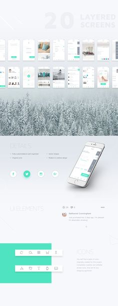 STITCH - Shopping app UI Kit on Behance