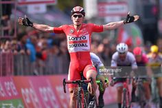 99th Tour of Italy 2016 / Stage 12 Arrival / Andre GREIPEL (GER)/ Celebration / Noale - Bibione (182km)/ Giro / #giro #rm_112