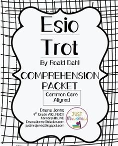 Esio Trot Lesson Plans and Teaching Resources: Author