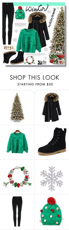 """SheIn #10"" by cherry-bh ❤ liked on Polyvore featuring H&M, Bling Jewelry and New York & Company"