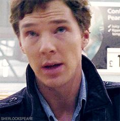 "Cute gif <3 I love the ""Oh, hell, I don't know"" face he makes! He's so adorable!"