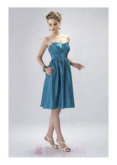 Tea Length Bridesmaid Dress Clover