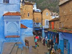 Known for its hypnotizing buildings in shades of blue, Chefchaouen is a small town located in northwest Morocco, a bus ride away from Tetouan or Casablanca. Its name derives from the shape of the odd, yet charming mountain tops overlooking the town, which resemble two horns (chaoua) of a goa