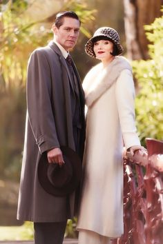 Nathan Page as Jack Robinson and Essie Davis as Phryne Fisher