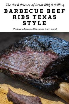 Texas Beef Ribs Recipe, Bbq Beef Ribs, Beef Back Ribs, Smoked Beef Ribs Recipe, Grilled Beef Ribs, Smoker Recipes, Rib Recipes, Cooking Recipes, Dinner Recipes