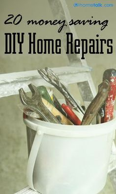 Calling a repair man for small things can really add up over time. This is a great way to save some extra money!