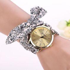 relogio masculino erkek kol saati  reloj mujer  Cloth Quartz Dial Bracelet Wristwatch Watch  2016 Oct06 send in 2 days #hats, #watches, #belts, #fashion, #style