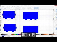 Designing a Laser Cut Tabbed Box Using Inkscape - YouTube