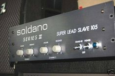 Ampli de puissance SOLDANO SUPER LEAD SLAVE 105