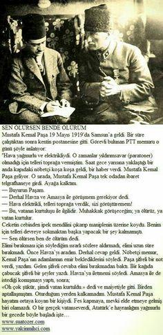 Mustafa Kemal'i gören bir memurun hikayesi..