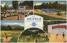 The Nevele Hotel and Country Club, Ellenville, N. Y.
