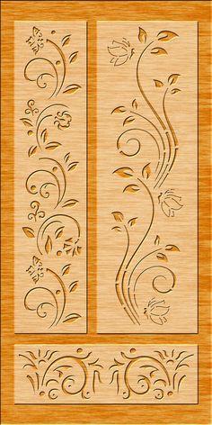 Stencil Patterns, Stencil Art, Stencil Designs, Wood Panel Walls, Panel Wall Art, Cnc Cutting Design, Laser Cutting, Laser Cnc, Machine Cnc
