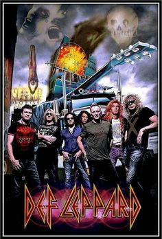 All The Leps. Photoshopped! Rick Allen has a big right hand!