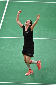 Bulgaria's Linda Zetchiri reacts after winning against Great Britain's Kirsty…