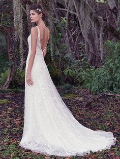 Jorie Wedding Dress by Maggie Sottero|Back