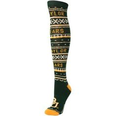 Baylor Bears Adidas Women's knee-high Christmas socks