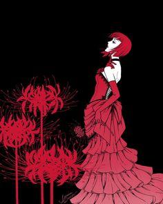 Madame Red from Black Butler/Kuroshitsuji Black Butler 3, Black Butler Anime, Ciel Phantomhive, Madame Red, Book Of Circus, Black Butler Kuroshitsuji, Kaichou Wa Maid Sama, Another Anime, Shinigami
