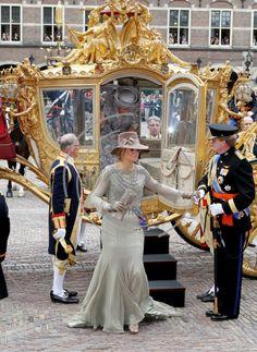 Miembros de la realeza holandesa asisten Prinsjesdag 2011