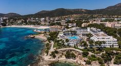 Aparthotel Ponent Mar Palmanova Apartotel Ponent Mar  is a 4-star aparthotel with free private parking, a spa and indoor and outdoor swimming pools. There is free Wi-Fi in all public areas.  Aparthotel Ponent Mar is set right next to the sea and beach in Mallorca.