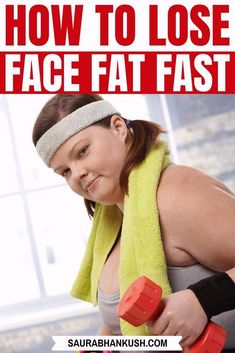 How to Lose Face Fat for Women #howtotightenlooseskinonface Reduce Face Fat, Face Fat Loss, Tighten Loose Skin, Facial Yoga, Facial Exercises, Anti Aging Facial, Double Chin, Skin Care Remedies, Jawline