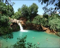 Pego do Inferno, the waterfall near Tavira in the Algarve, Portugal Algarve, Vacation Places, Vacation Destinations, Portugal Travel, Instagram Worthy, Travel Inspiration, Travel Ideas, Travel Goals, Holiday Travel