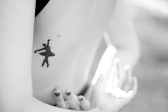 One of the prettiest ballerina tattoos I've ever seen. Ballet Tattoos, Ballerina Tattoo, Cool Tattoos, Tatoos, Pretty Ballerinas, Tattoos For Women, Tattoo Quotes, Body Art, Seen