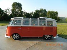 1966 VW 21 Window Microbus