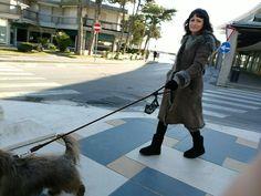 Ausflug nach Lignano Pineta Am Meer, Coat, Jackets, Fashion, Nature Reserve, Pet Dogs, Animals, Down Jackets, Moda