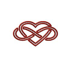 Infinity Heart Sign Machine Embroidery Design 2 by EmbroideryDecor, $3.99