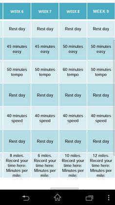 Running Training Plan, 16 Weeks, Rest Days, Running Away, Training Programs, Marathon, Runners, Trust, Thoughts